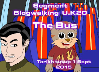 Segment Blogwalking UK20 The Bus