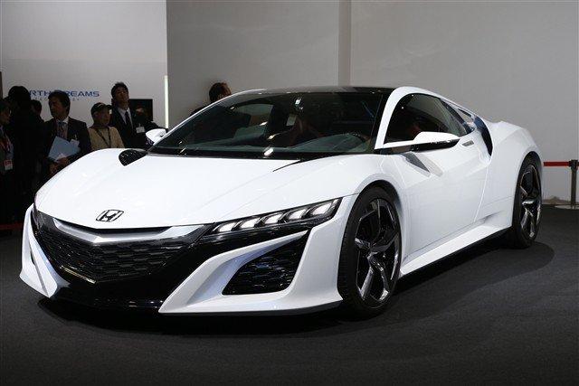 Honda NSX II, druga generacja, MK2, V6 twin turbo, napęd na cztery koła, AWD, hybryda, silnik elektryczny, przyszłość, koncept, prototyp