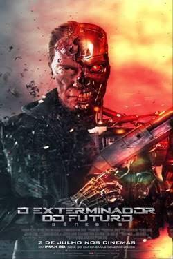 Capa O Exterminador do Futuro Gênesis Torrent Dublado