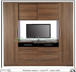 Lemari minimalis elegan tv unit Amazon