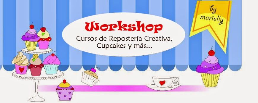 Cursos: Tartas con Fondant en Barcelona, Talleres de Cupcakes y Galletas