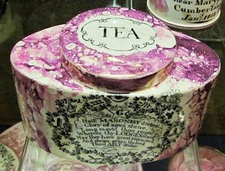 Tea Caddy, Freemason