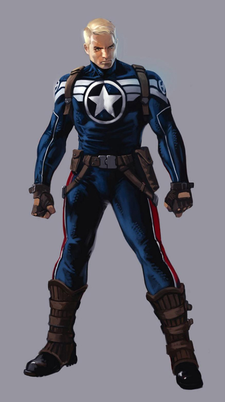 Captain America: The Winter Soldier new suit (comic version)