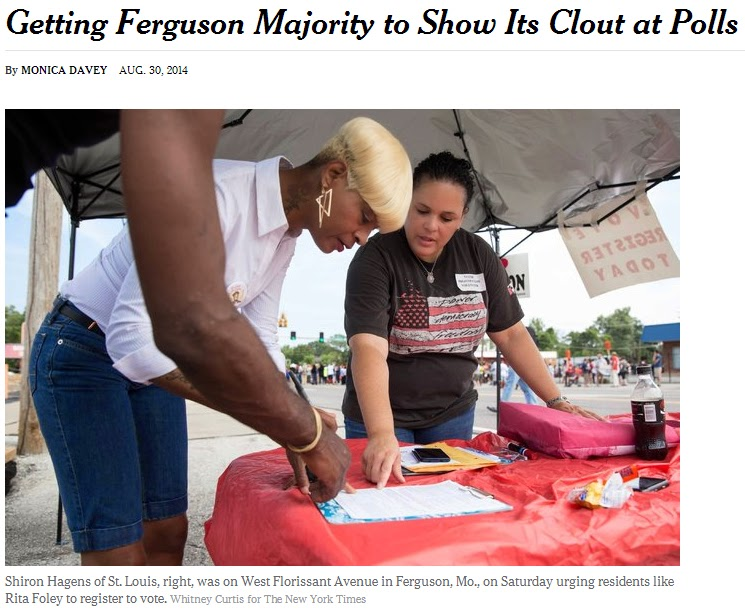In The Land Of The Blind: Ferguson, Elections & Civic Ignorance