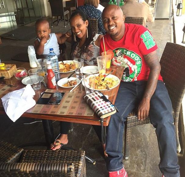 deejay creme de la creme and his family