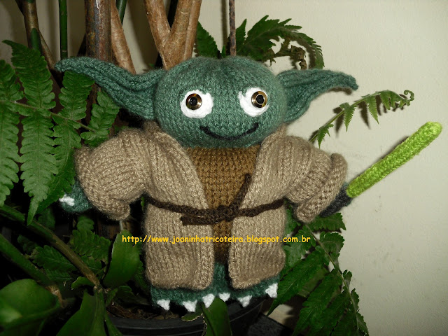 mestre yoda tricot