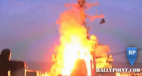 Tomahawk missile launched at Qaddafi