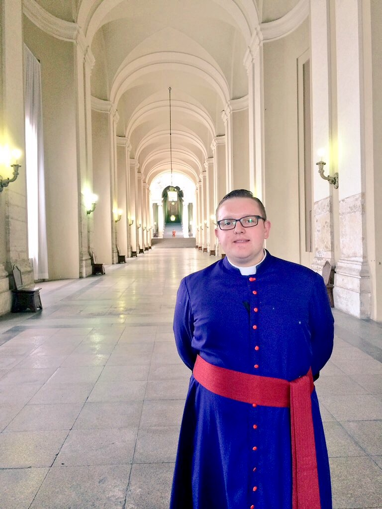 In the Apostolic Palace