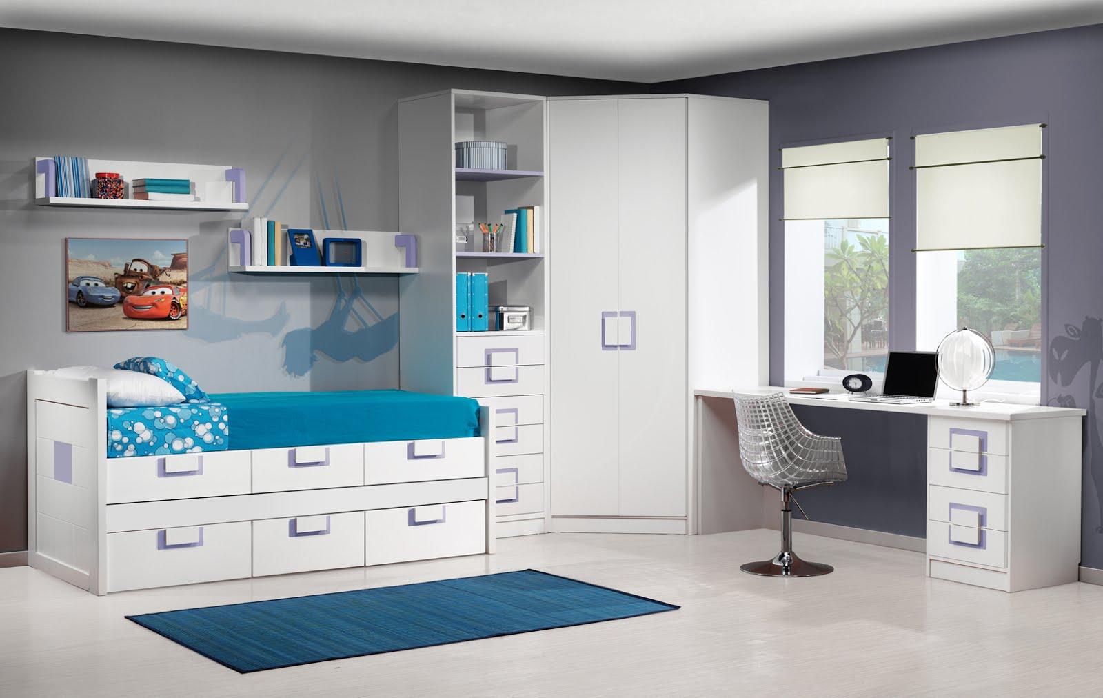 Armarios de rincon for Habitaciones juveniles muebles tuco