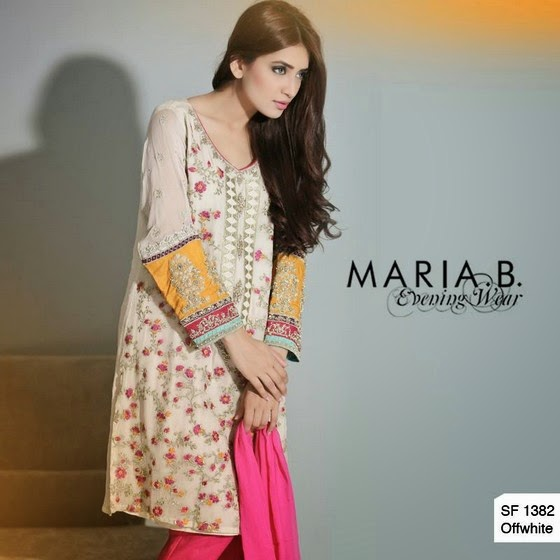 Maria B Eid Dresses 2014 Maria B Formal Evening Wear Collection