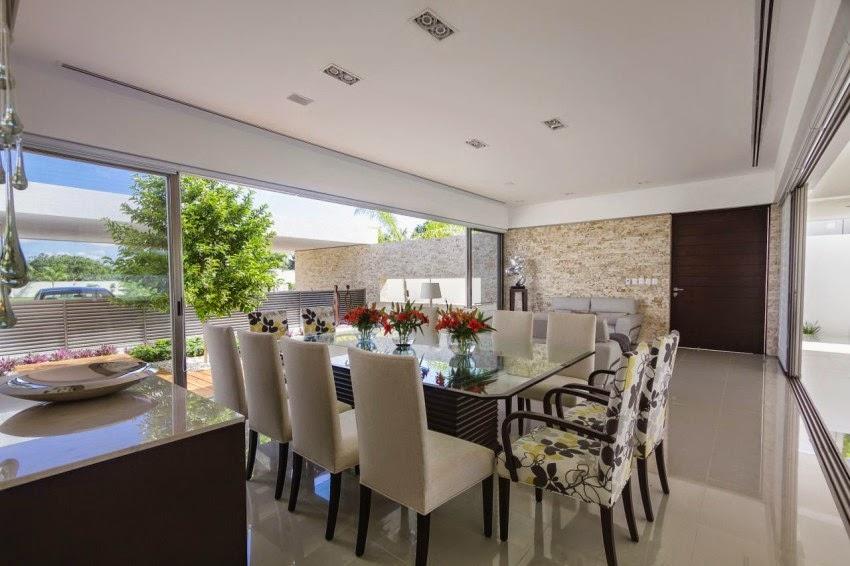 Hogares frescos casa contempor nea kopche en m rida for Diseno de interiores merida