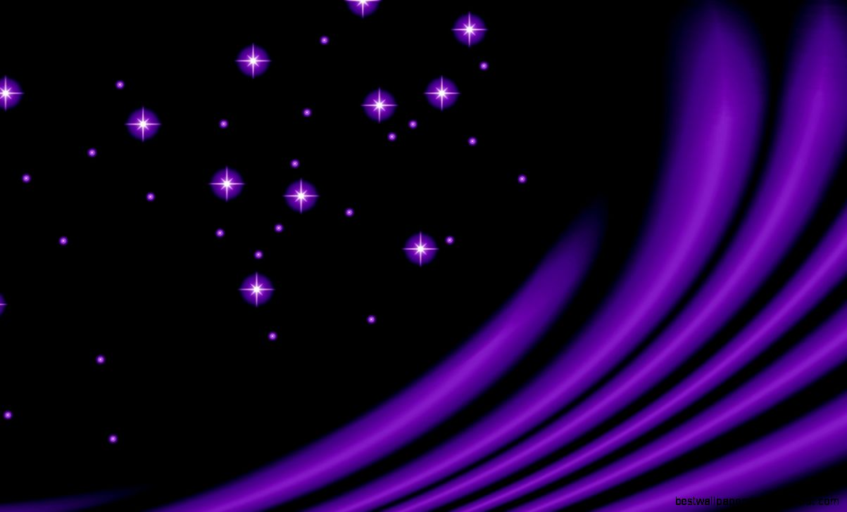 Purple Star Abstract