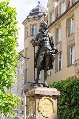 Goethedenkmal in Leipzig