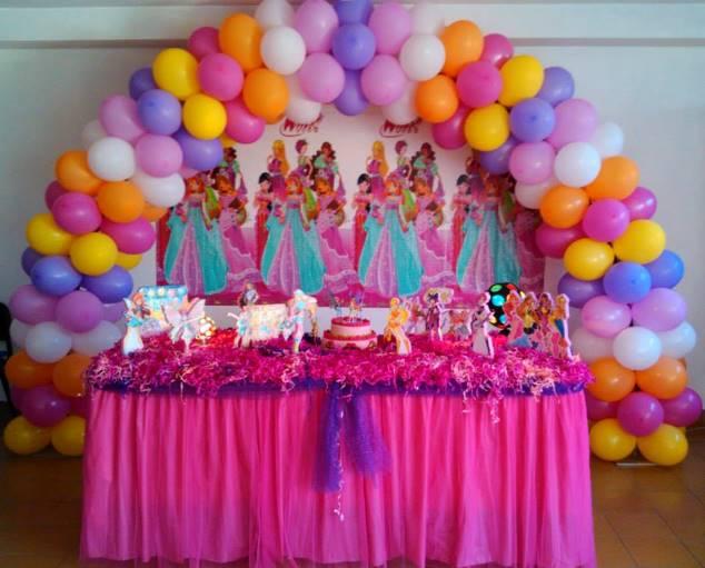 decoracao festa winx:Decorações de Festas e Organização de Eventos: Decoração Winx