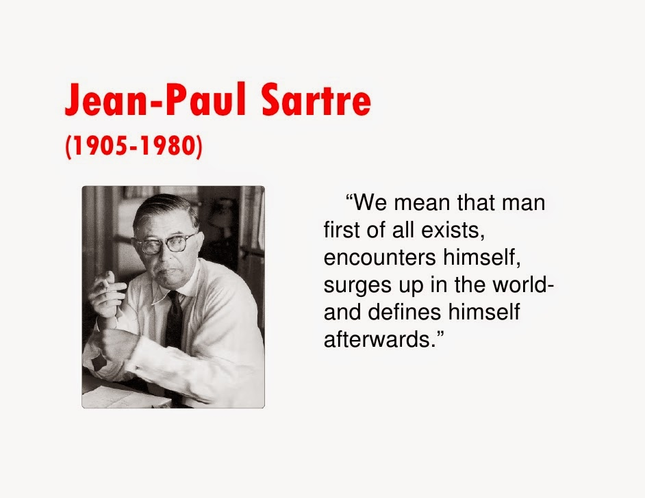 sartre existentialism essay summary Jean paul sartre: existentialism after a brief summary of sartre's life an essay on phenomenological ontology (1958.