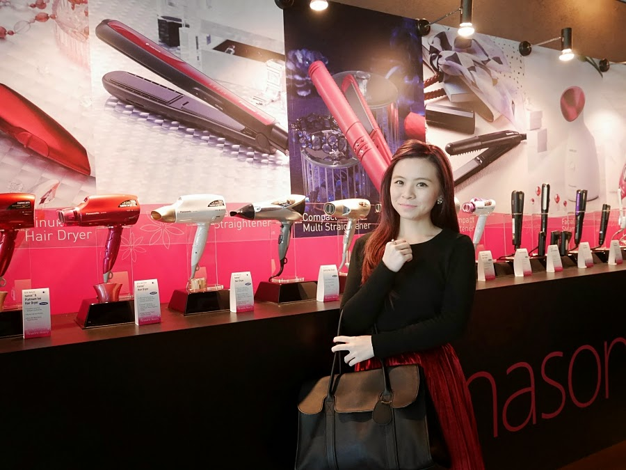 Girl at panasonic beauty event