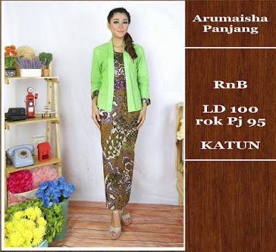 Baju Batik Gamis (Muslim) Arumaisha Dbg-691