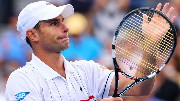 Andy Roddick's farwell at the US Open
