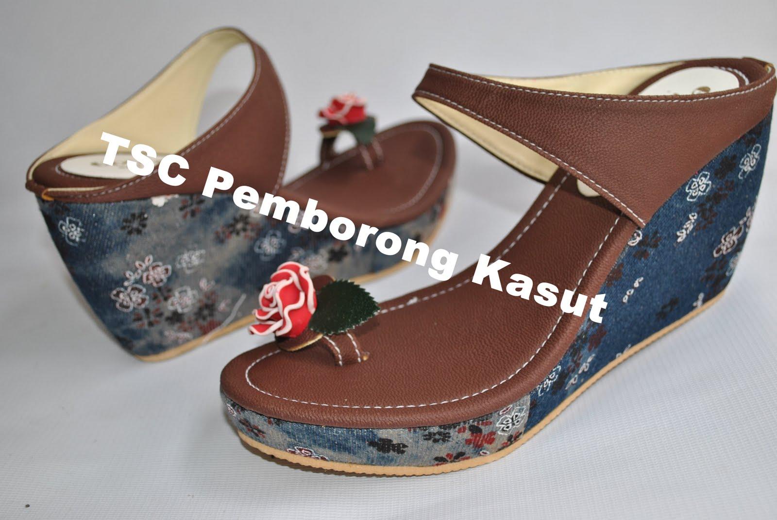 Cari Kasut Wedges !! Contact : TSC Pemborong Kasut 0162087152