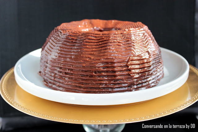 Torta de Naranja con Chocolate