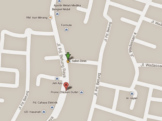Lokasi 1094-1 Cari KAVLING di JUAL - Info Lengkap Properti Dong - Bintaro Sektor 3