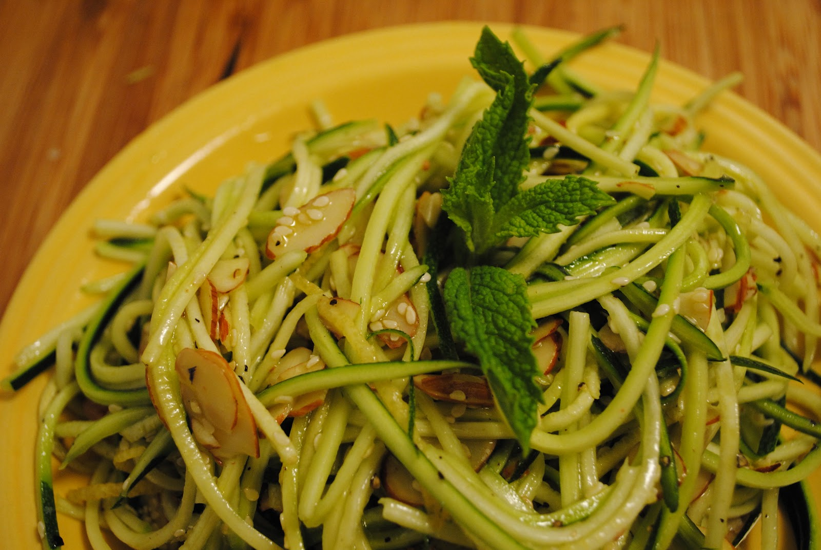 "Culinary Adventures with Camilla: Zucchini ""Pasta"" Salad ..."