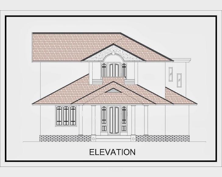 Plan Amp Elevation In Kerala : Malayala manorama house plan joy studio design gallery