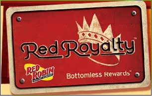 Red Robin Red Royalty Card Rewards