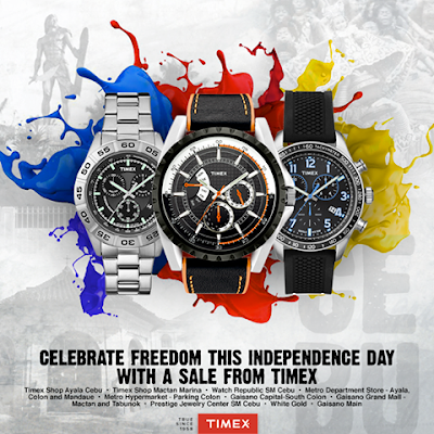 Manila Shopper Timex Independence Day SALE 2015