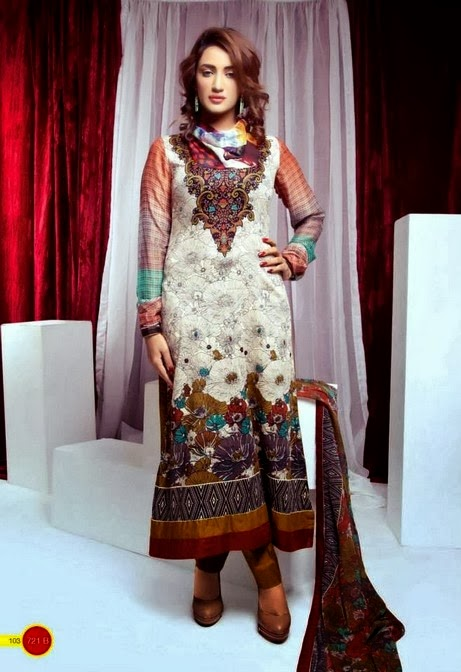 Crinkle Chiffon Lawn Collection