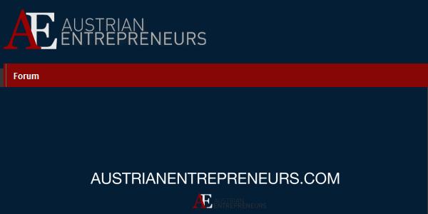AustrianEntrepreneurs.com: Österreichs Unternehmertum Plattform.