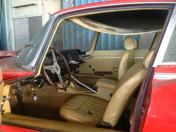 Restoration Project Cars 1970 Jaguar E Type Project For Sale