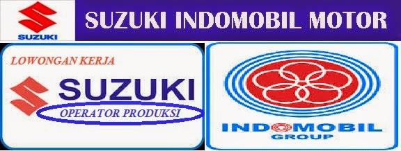 Lowongan Jasa Penempatan Kerja Operator Produksi PT. SUZUKI INDOMOBIL Indonesia Terbaru