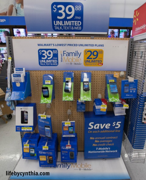Walmart Family Mobile Unlimted plan #shop