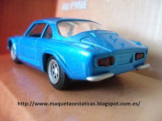 die cast Renault Alpine A110