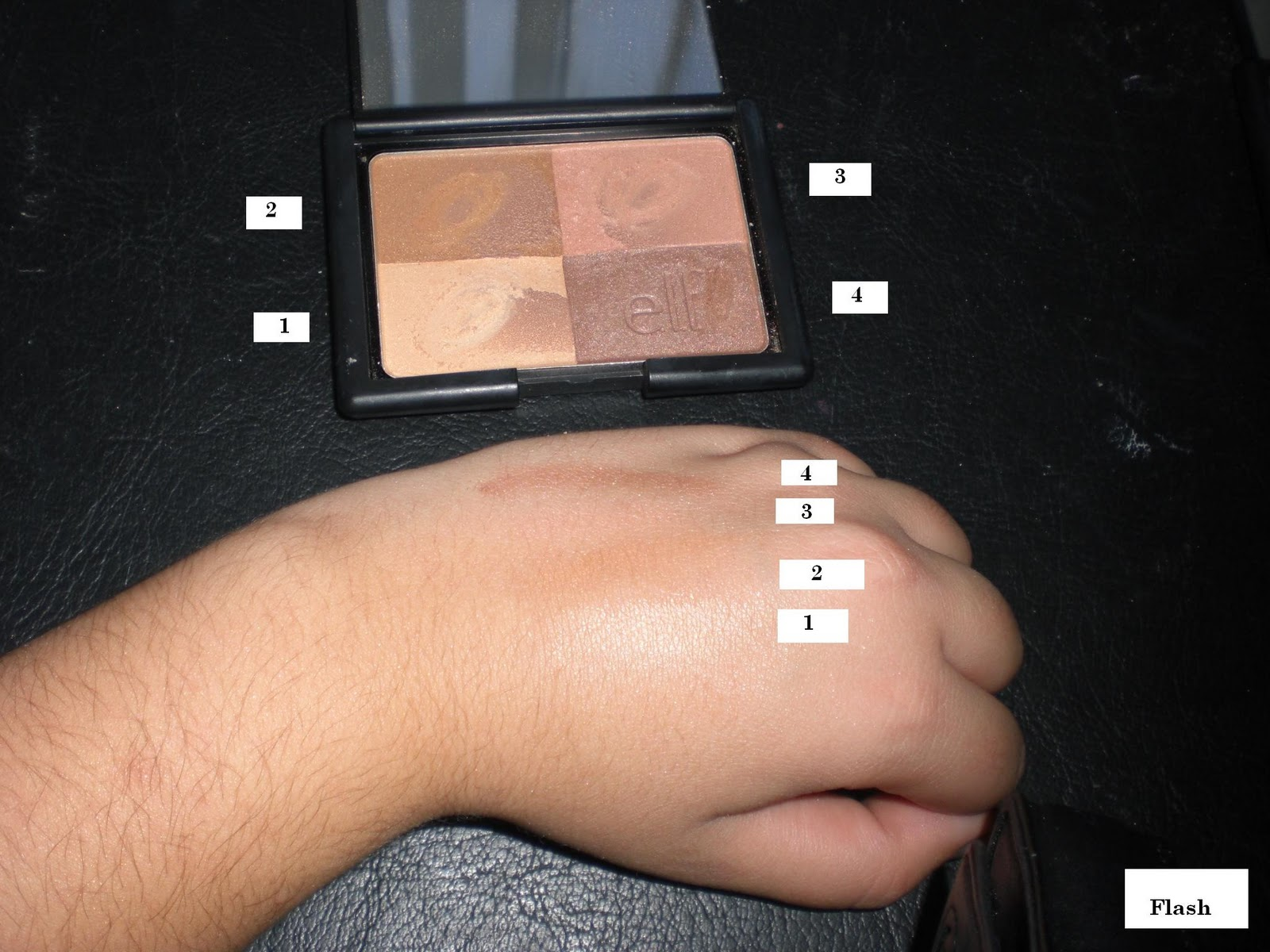 All things fabulous elf studio bronzers swatches and review the other day i just put on blush and i felt that without the bronzer the look wasnt complete this bronzer really makes a difference to my look ccuart Choice Image