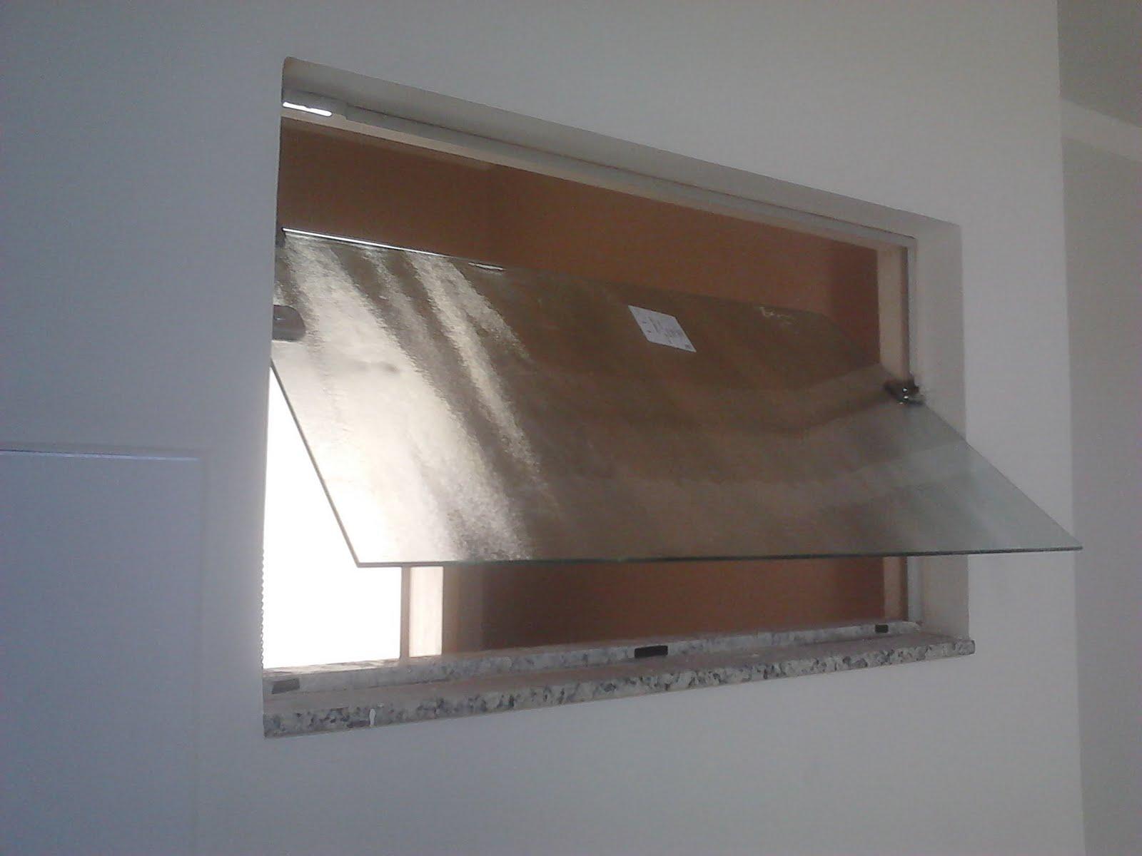 Janela Basculante Para Banheiro em vidro Antílope no detalhe abaixo  #4D3C31 1600 1200