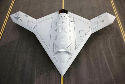 UN DRONE COMPLÈTEMENT AUTONOME X47+unmanned+drone