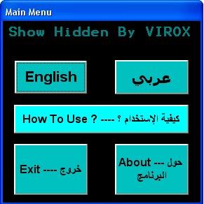 Show Hidden By VIROX
