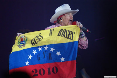 Axl Rose en venezuela
