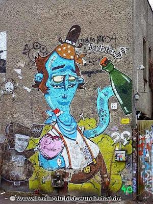 berlin, streetart, graffiti, kunst, stadt, artist, strassenkunst, murale, Hrvb theWeird