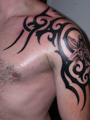fashionable simple tribal tattoo designs