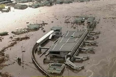 Tsunami in japan