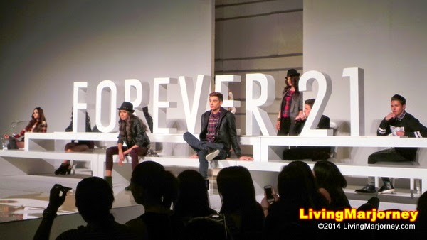 Forever 21 at The Phil. Fashion Week 2014