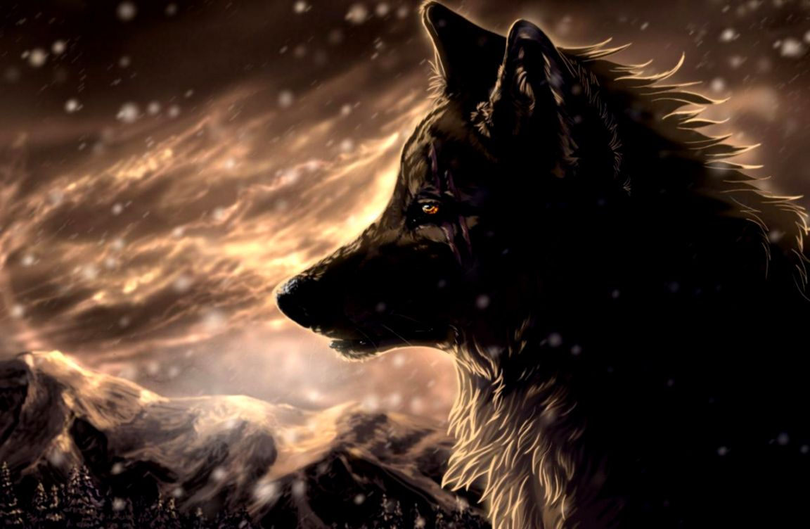 3d anime wolf wallpaper amazing wallpapers