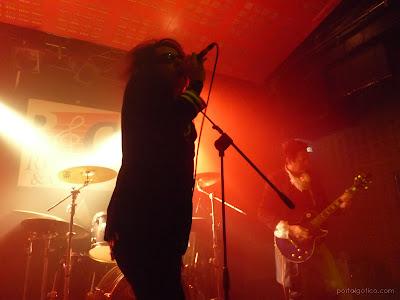 Nosferatu - concerto em Madrid a 5 de Maio 2012.