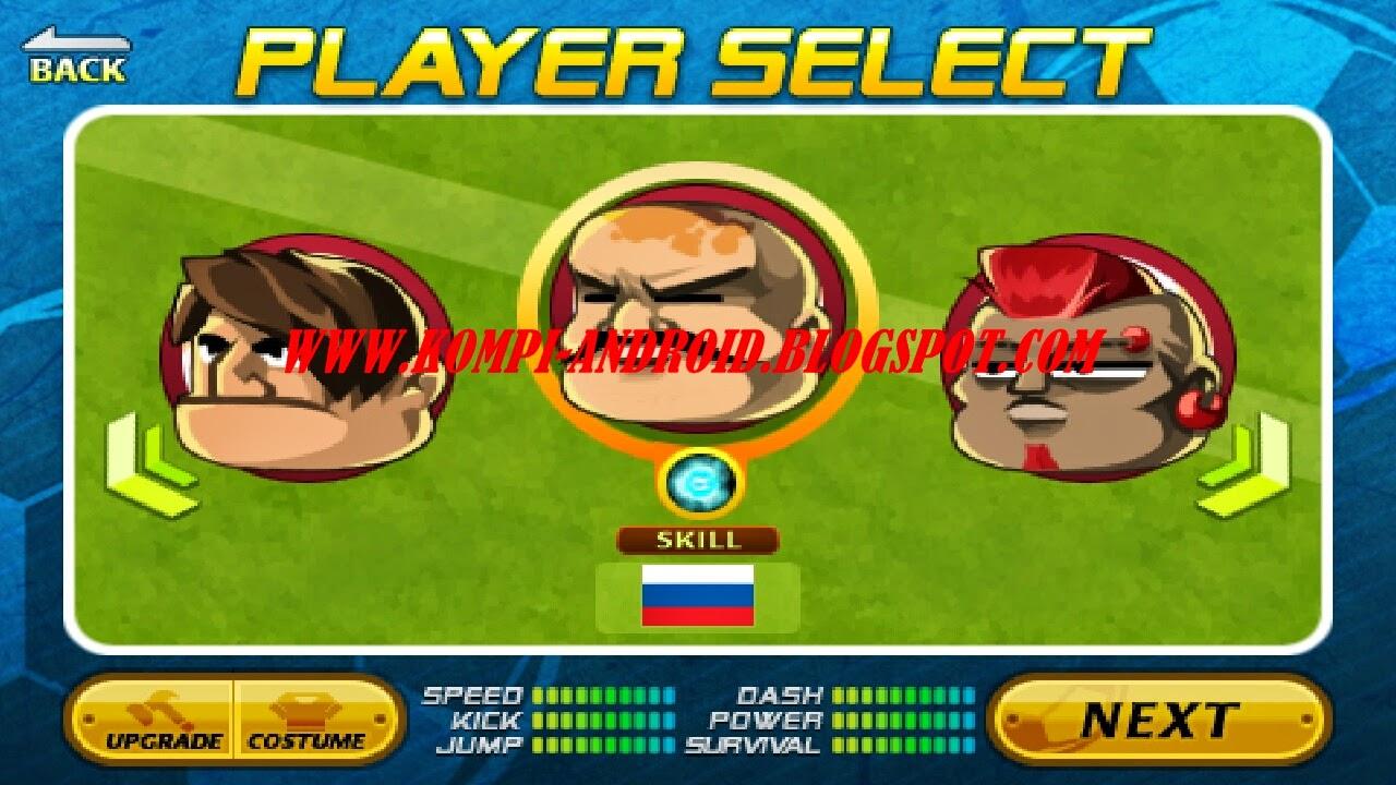 head soccer mod apk money