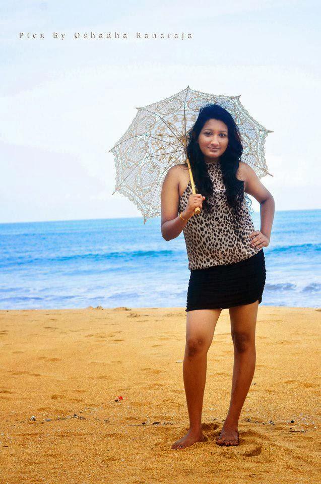 Madushani Rajapaksha beach spicy