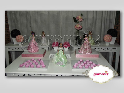 Festa Princesas personalizada Gommiz