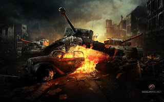 Tanks in Destroyed City World of Tanks HD Wallpaper